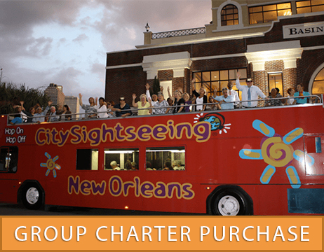 Hop On Hop Off Private Bus Tours Of Local New Orleans Sights